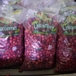 picture of bags of Johnston's cranberries