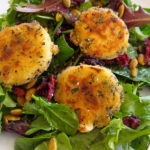 Cranberry Baked Goat Cheese Salad