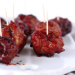 Cranberry Glazed Meatballs
