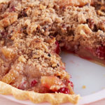 Cranberry Almond Crunch Pie