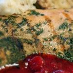 Fresh Muskoka Trout in Wine Sauce
