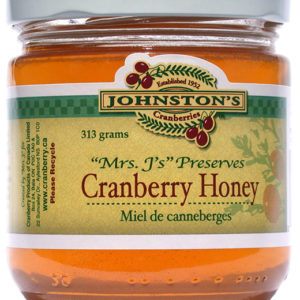 Johnston's Cranberry Honey
