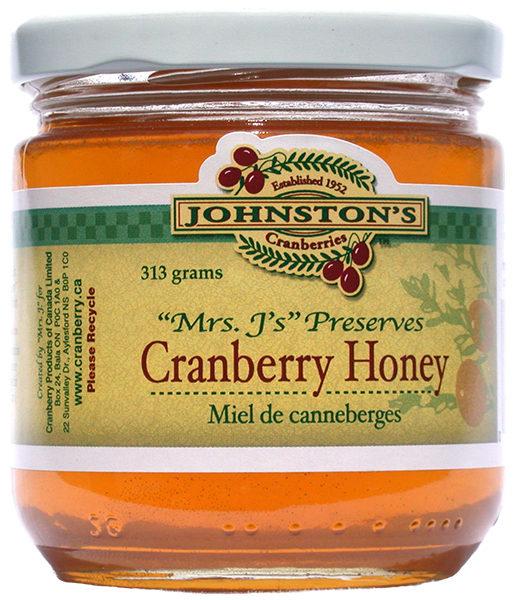 Johnston's Cranberry Honey