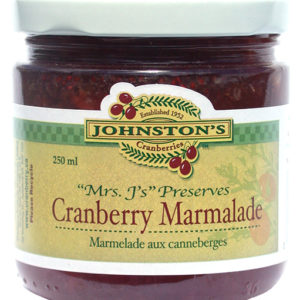 Mrs. J's cranberry marmalade