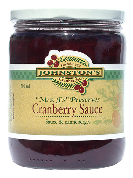Mrs. J's Cranberry Sauce