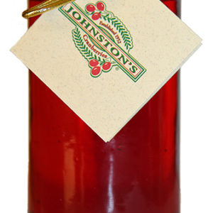 jar of Muskoka Lakes cranberry wine jelly