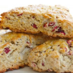 Deb's Cranberry Orange Scones
