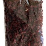 450 gram bag of Johnston's dried cranberries