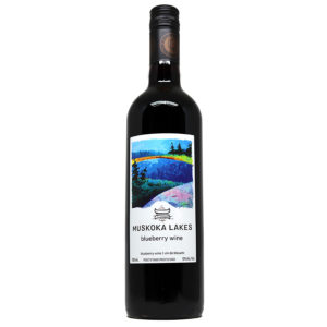 muskoka lakes winery blueberry wine