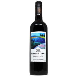 muskoka lakes winery blueberry wine