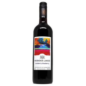 muskoka lakes winery cranberry blueberry wine