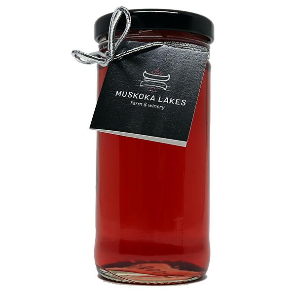 muskoka lakes farm and winery cranberry wine jelly
