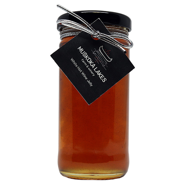 muskoka lakes farm and winery white hot wine jelly
