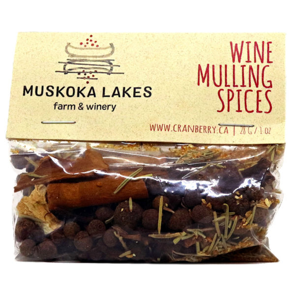 bag of mulling spices from muskoka lakes farm and winery