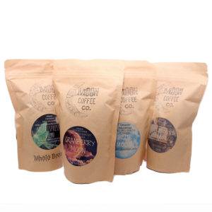 four bags of moon coffee
