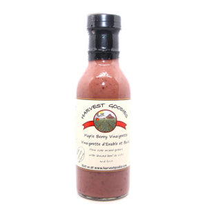 bottle of maple berry vinaigrette