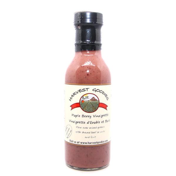 bottle of maple berry vinaigrette